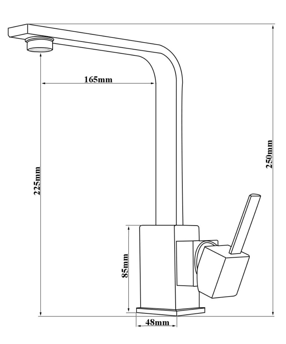 Basse pression vier robinet de cuisine robinet vier - Raccord robinet cuisine ...