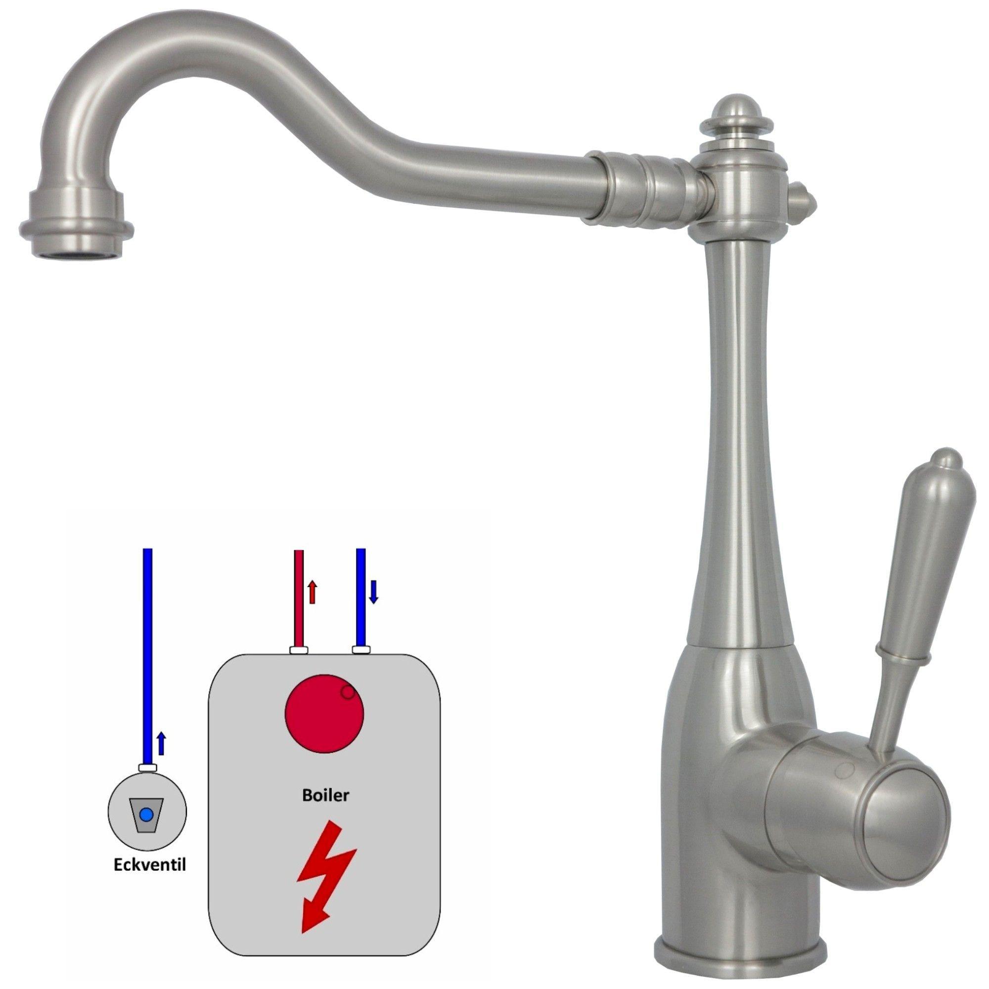 Küchenarmatur Niederdruck Wasserhahn Mischbatterie Spültisch Armatur ...