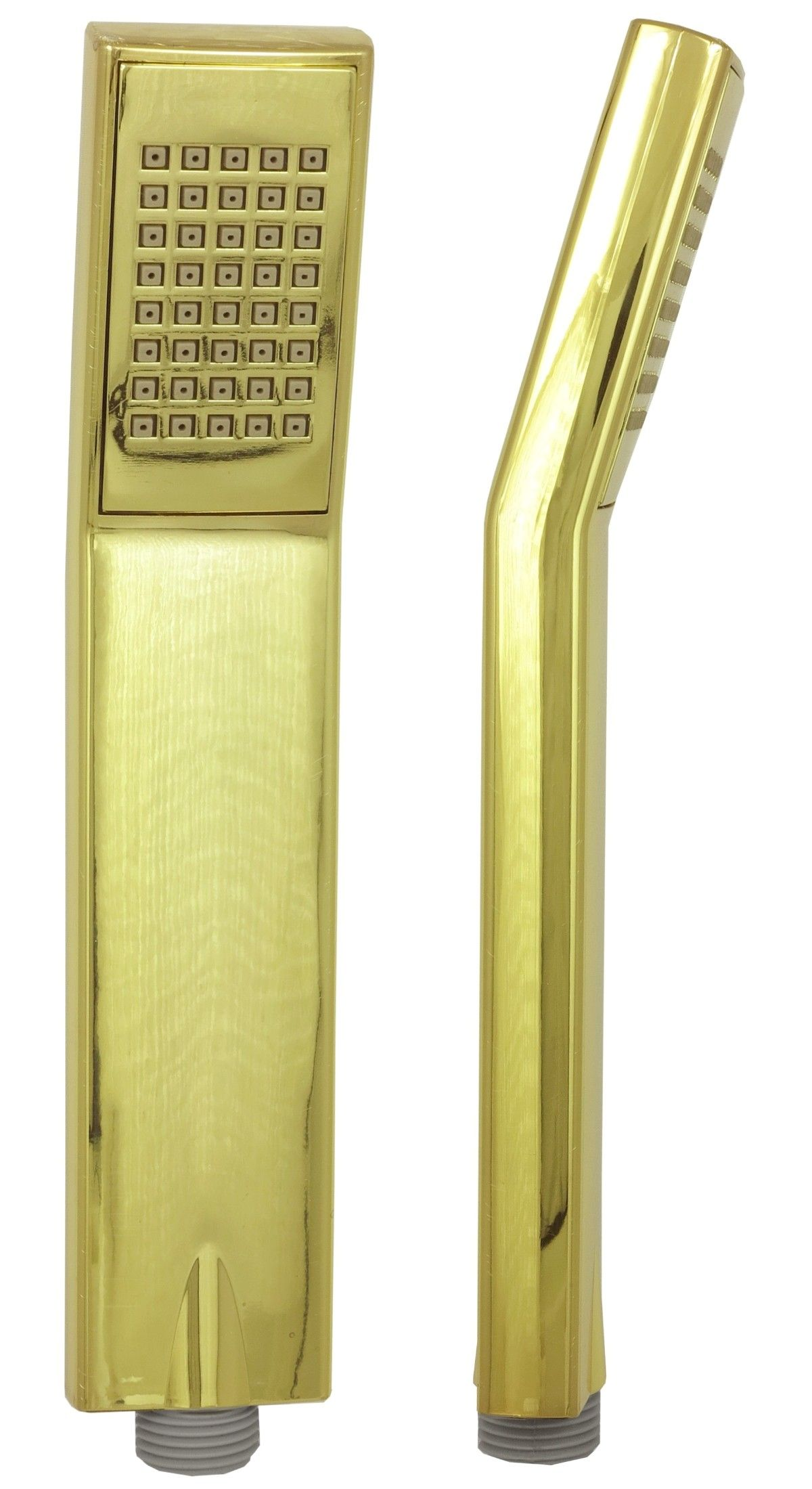 Armatur Gold 20 Karat Handbrause Duschkopf Brausekopf Stabbrause