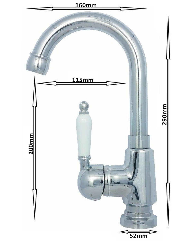 Waschbecken Waschtisch Wasserhahn Einhebelmischer Bad