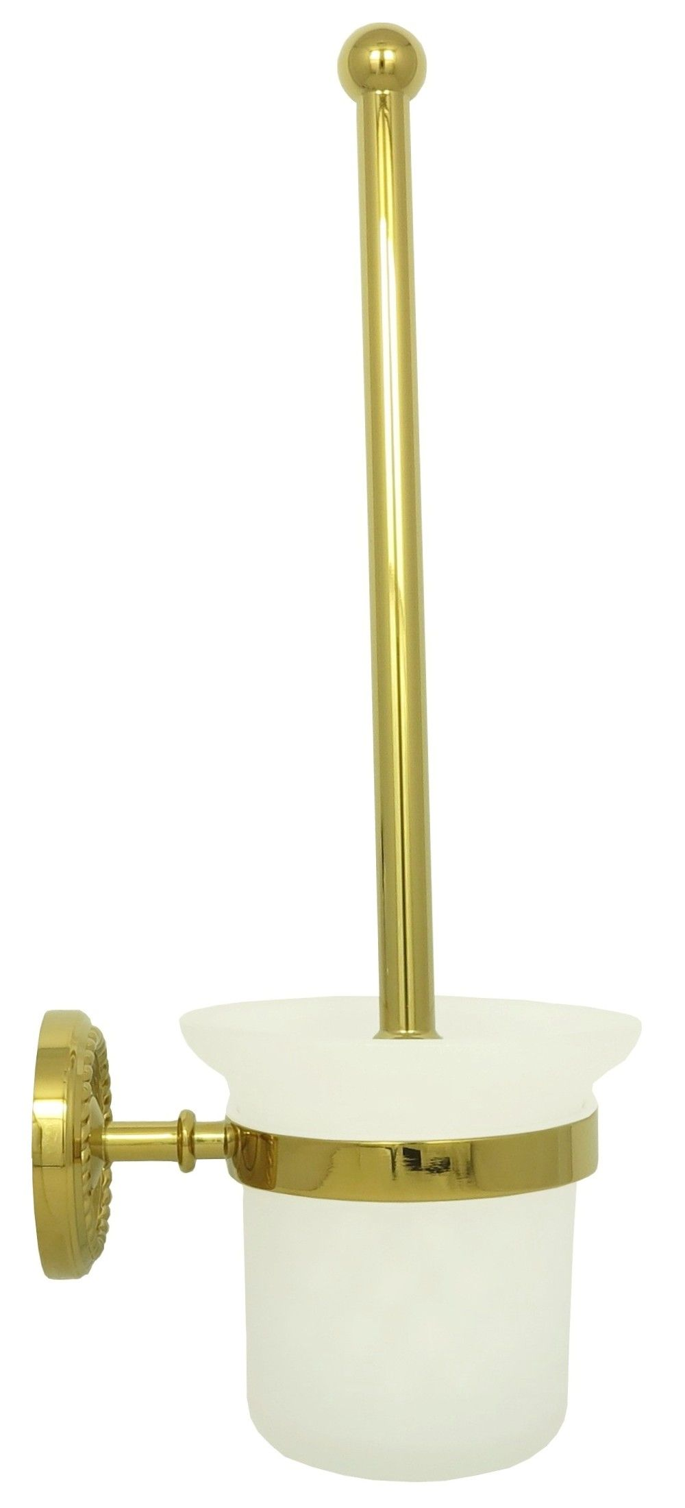brush set toilet brush toilet brush set wc bracket brush retro gold ebay. Black Bedroom Furniture Sets. Home Design Ideas